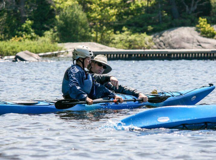 Greg teaching in Georgian Bay