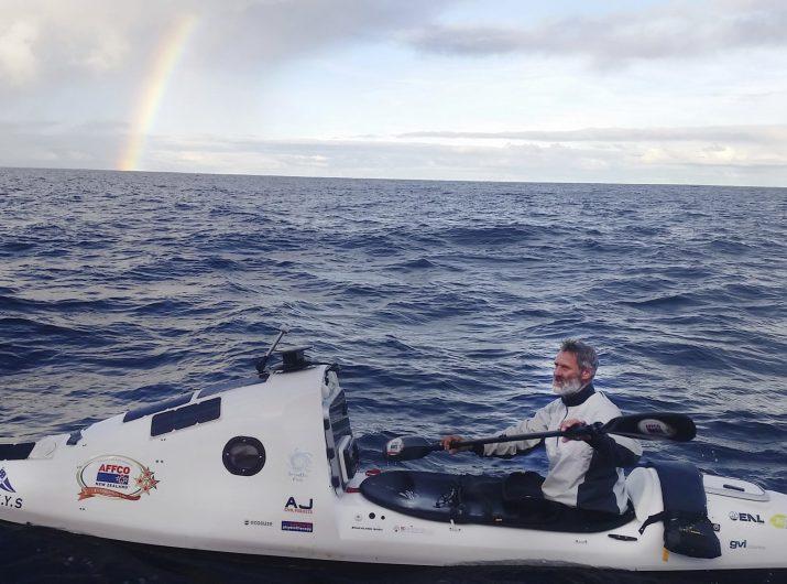 Scott Donaldson Paddling Across the Tasman Sea